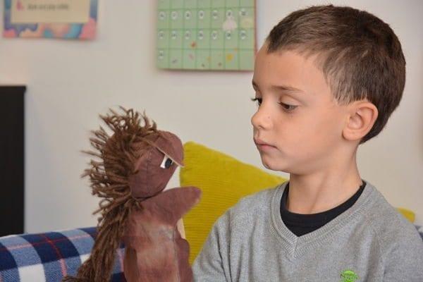 puppet & boy